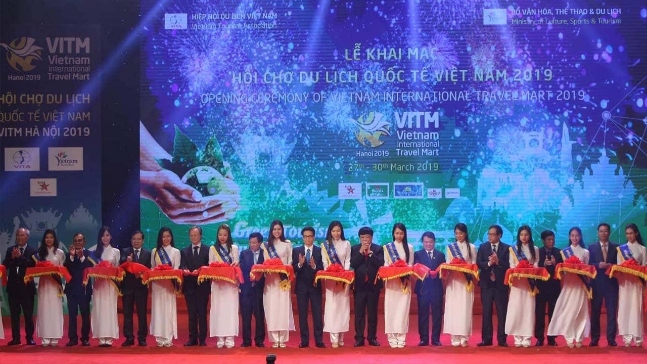 Lễ khai mạc Hội chợ du lịch quốc tế Việt Nam năm 2019 (VITM 2019)