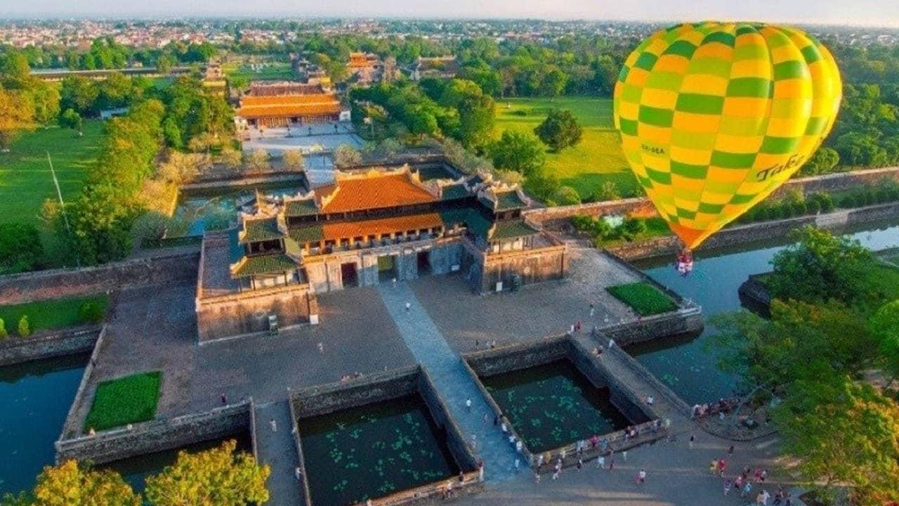 Lễ hội khinh khí cầu Quốc tế 2019 diễn ra tại Ngọ Môn - Huế