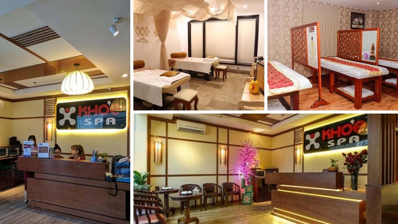 Khỏe massage là địa chỉ massage lành mạnh Sài Gòn