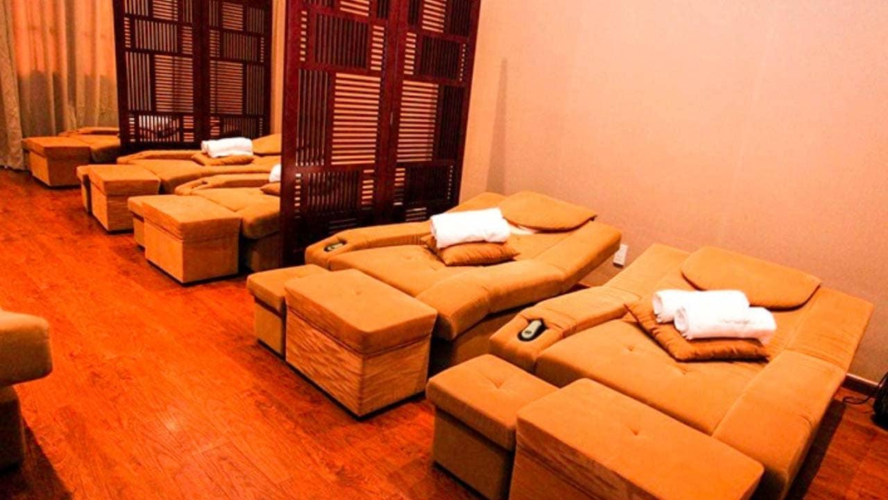 Phòng massage chung tại Ngọc Anh Spa