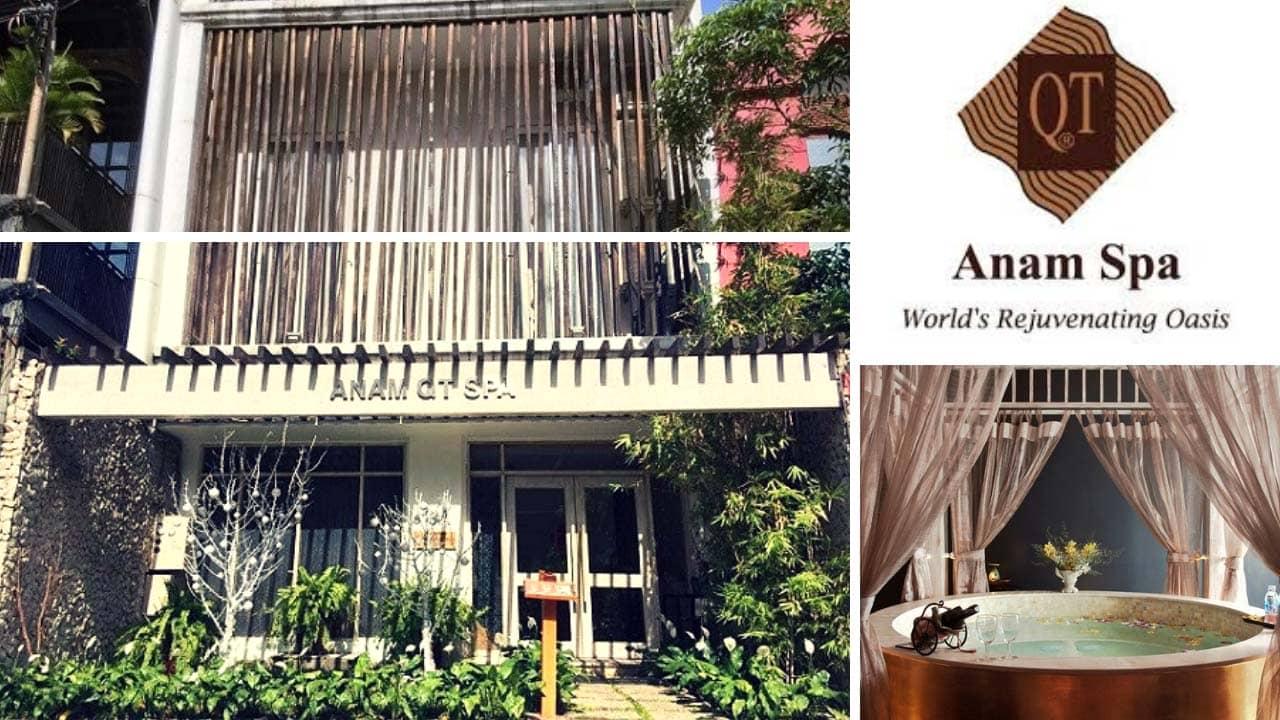 Anam QT Spa là một trong những spa chuẩn quốc tế đầu tiên tại Việt Nam