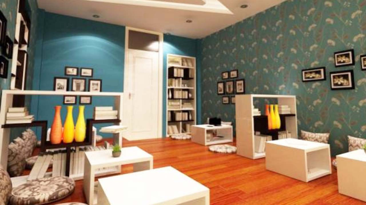 A corner of the 3rd floor of Hanoi's book cafe Moc Mien.  Source: Internet