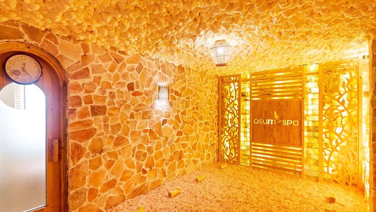 Phòng xông hơi đá muối Hà Nội Osum Spa. Nguồn: Internet