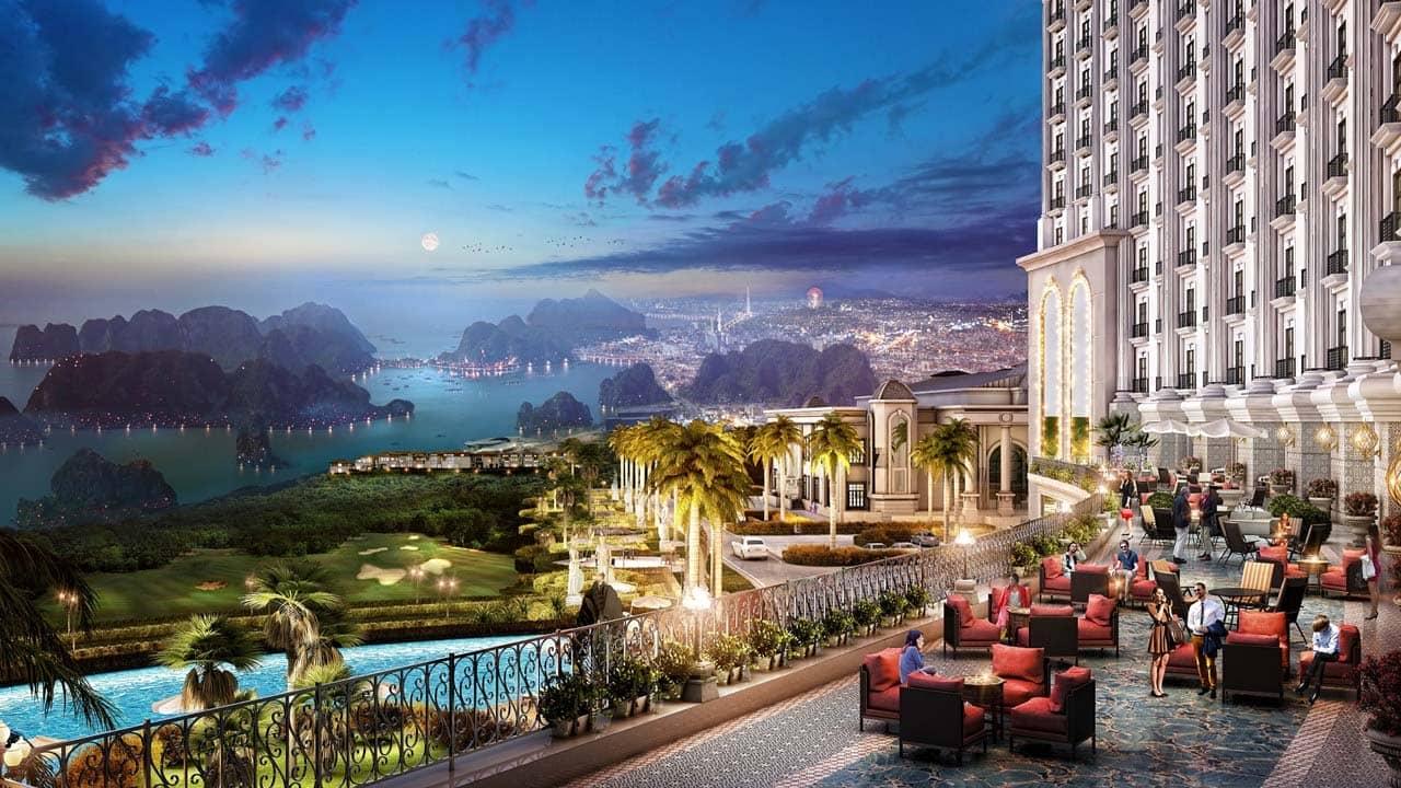 Rooftop bar cao nhất Hạ Long dự kiến sẽ hoàn thiện trong năm 2019. Nguồn: Internet