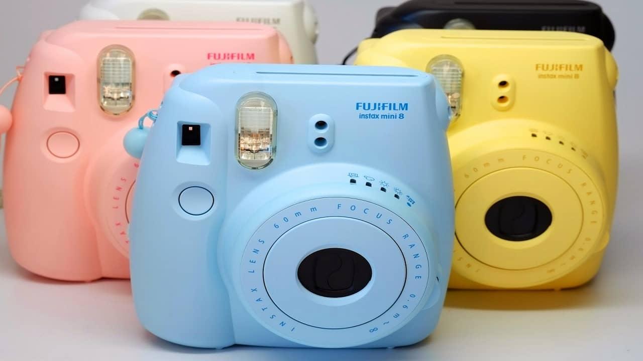 Máy ảnh instax: máy chụp hình lấy ngay