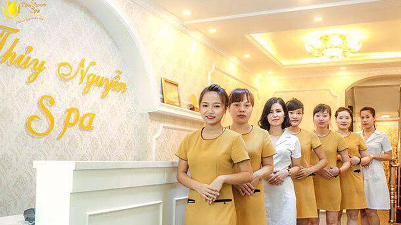 Thủy Nguyễn Spa là địa chỉ xông hơi đá muối Hà Nội giá rẻ với rất nhiều voucher. Nguồn: Internet