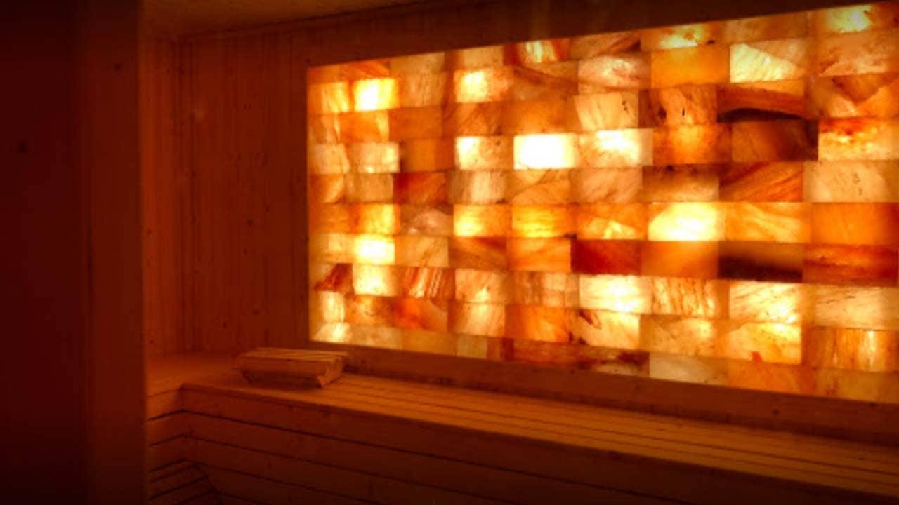 Phòng xông hơi đá muối Hà Nội dành riêng cho nam giới tại Spa Adam. Nguồn: Internet