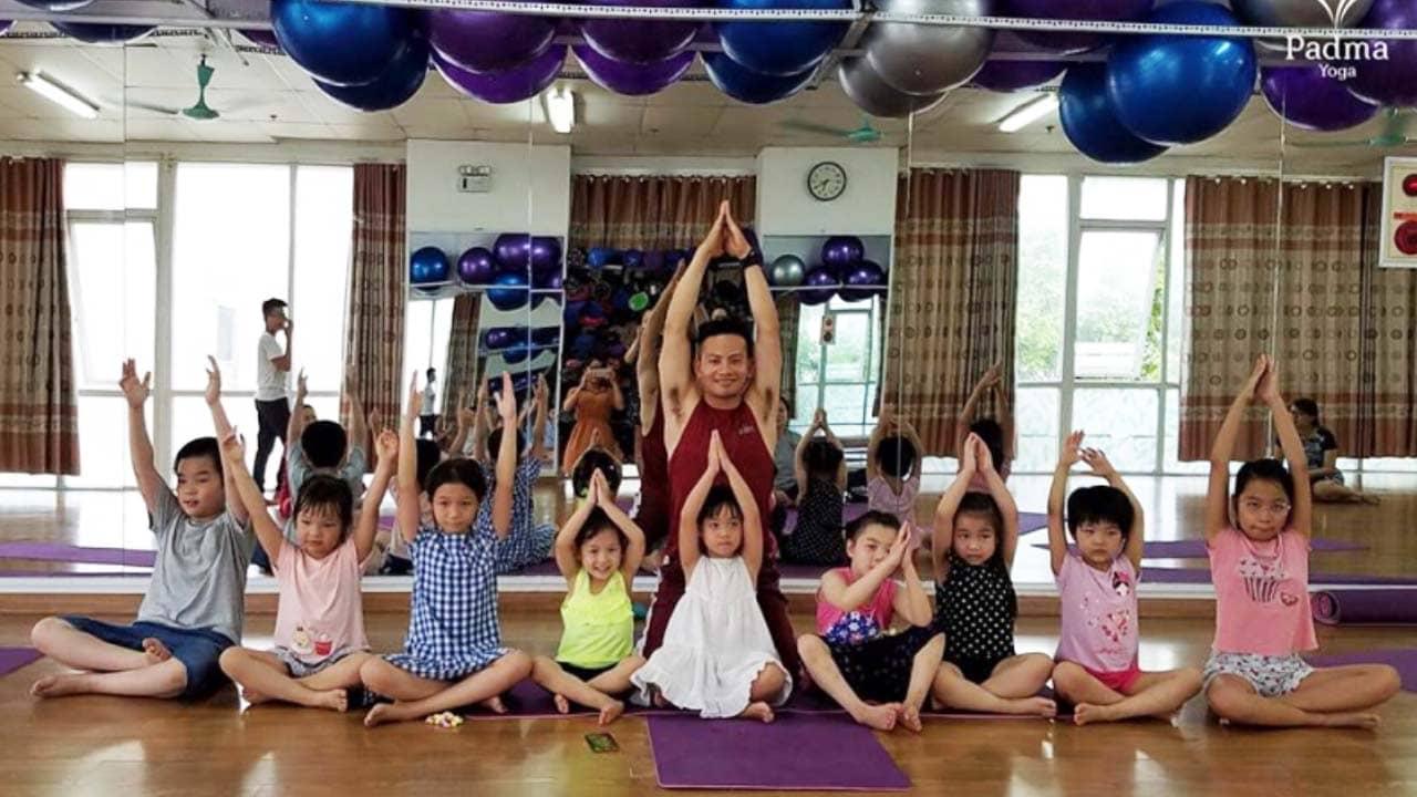 Padma Yoga là địa chỉ yoga Hà Nội có các lớp và chương trình học dành riêng cho trẻ em rất đáng tin cậy. Nguồn: Internet