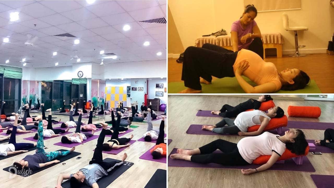 Padma Yoga Thanh Xuân Hà Nội với những dịch vụ cho mẹ bầu uy tín