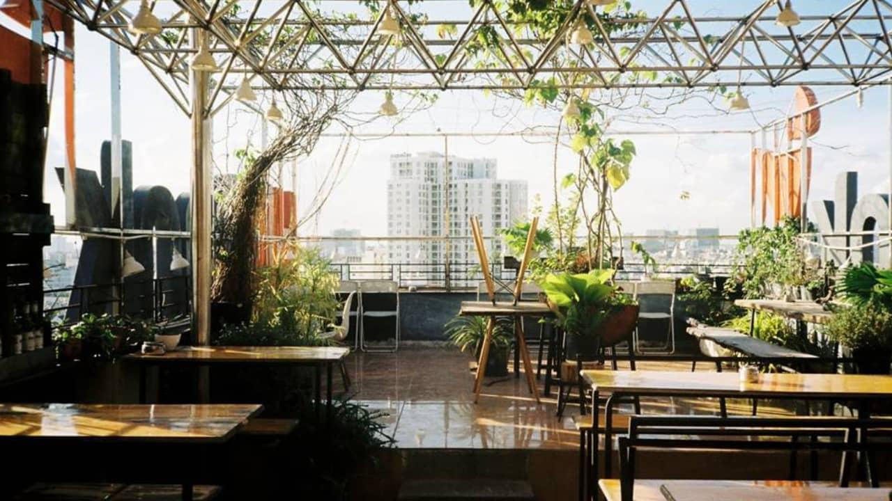 Mary Jane's The Bar sở hữu tầm nhìn lý tưởng kết hợp với phong cách thiết kế quán đẹp mắt