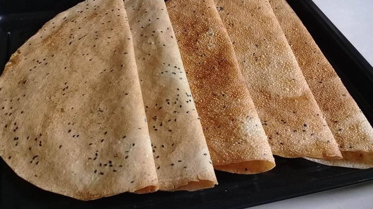 Hương vị của bánh tráng Mỹ Lồng rất hoàn hảo, vừa đặt bánh lên bếp nướng là bạn đã có thể cảm nhận được hương thơm lừng