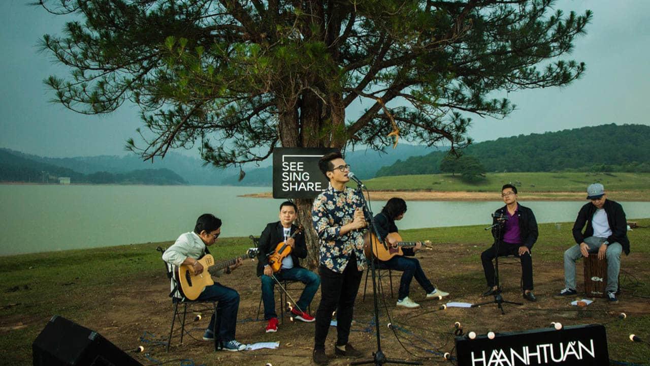 Cây thông Cô đơn là địa điểm quay MV See Sing Share mùa 2