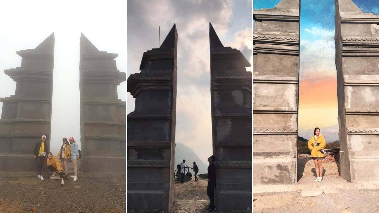 """Hình ảnh thực tế chưa ở """"cổng trời"""" hóa ra là thế này đây. Nguồn: Internet"""
