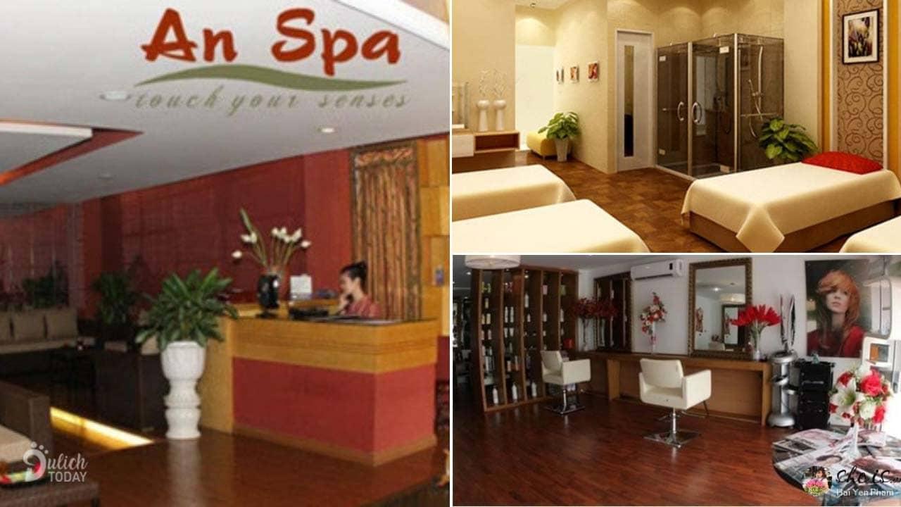 An Spa là địa điểm massage chân Hà Nội tốt với nhiều dịch vụ đa dạng
