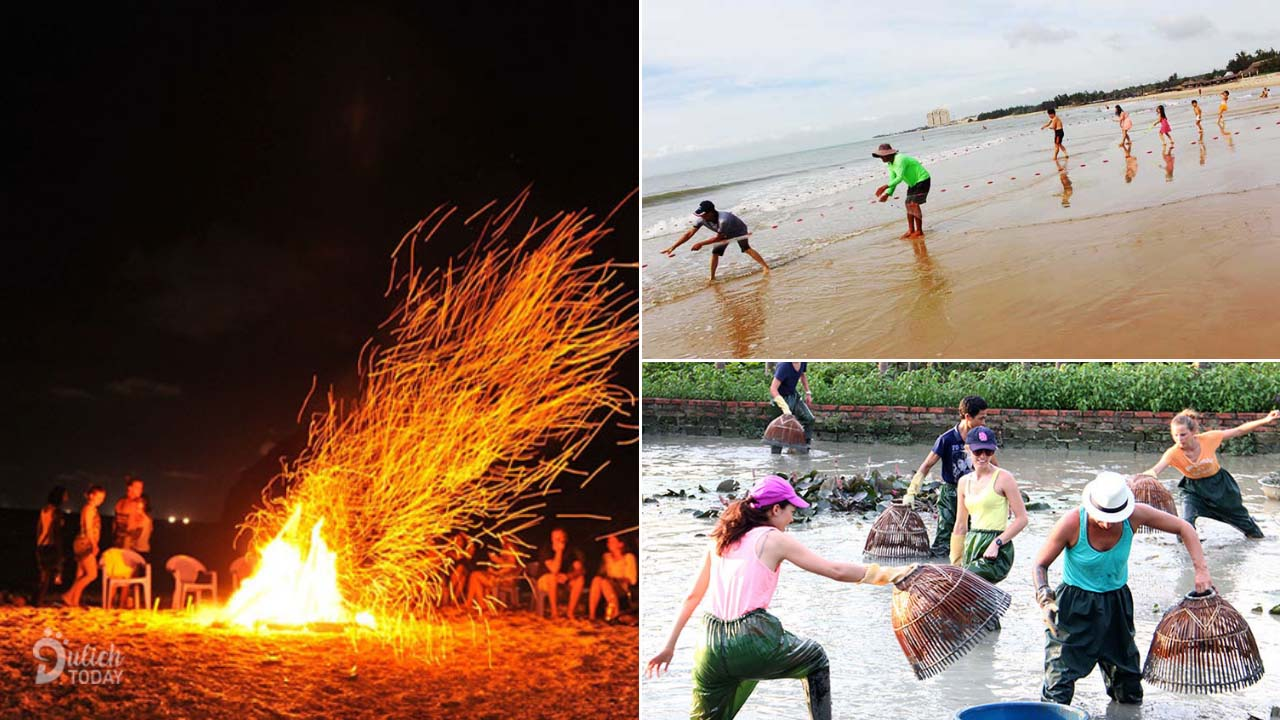 Các hoạt động giải trí trên bãi biển đa dạng tại Hương Phong Hồ Cốc Resort