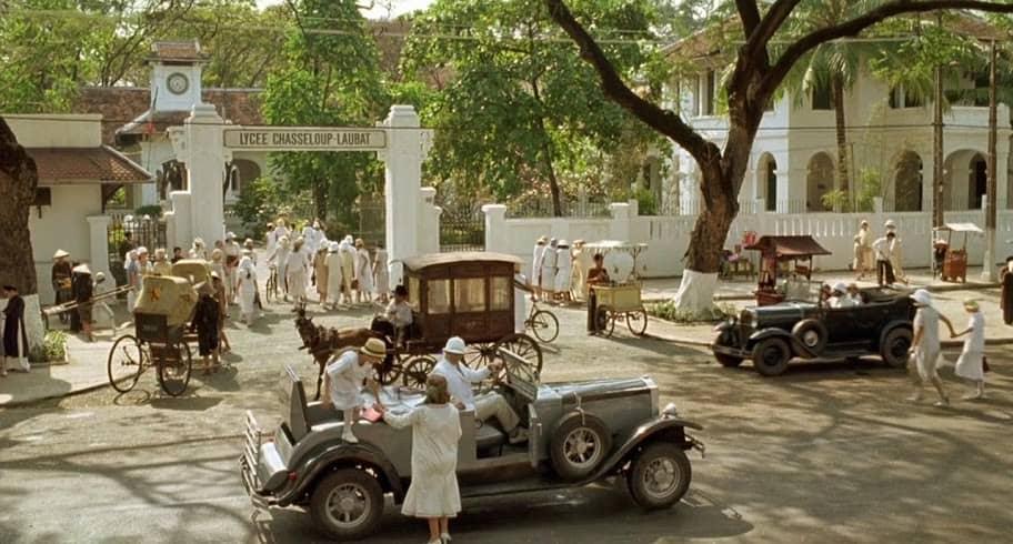 Một cảnh rất Sài Gòn thời xưa được ghi dấu trong phim Người tình