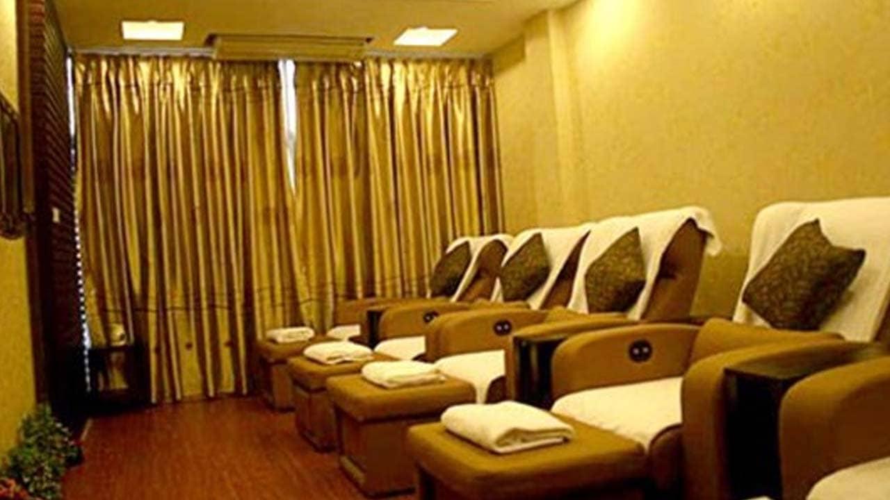 Không gian tại Mộc Trà Anh Foot Massage. Nguồn: Internet