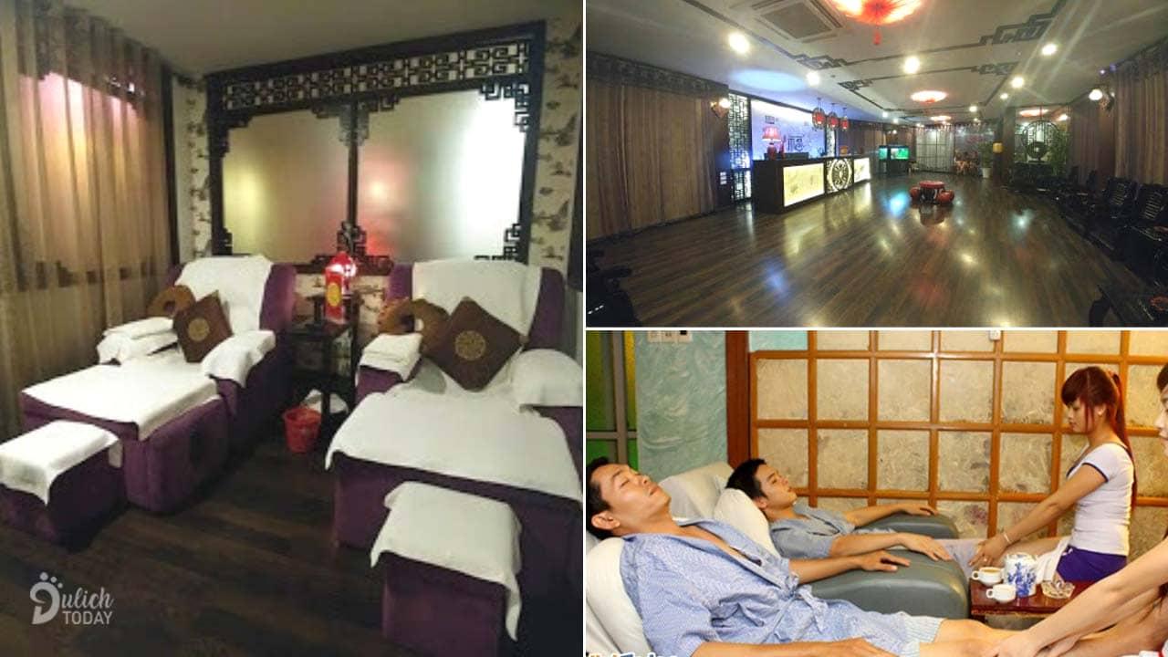 """Không gian thoải mái ở Nhật Nguyệt Lâu Massage dễ dàng """"ru ngủ"""" du khách"""