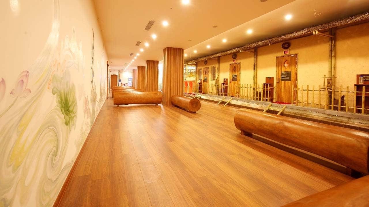 Không gian chung để nghỉ ngơi rát rộng và sạch sẽ, đẹp mắt tại Andeva Spa. Nguồn: Internet
