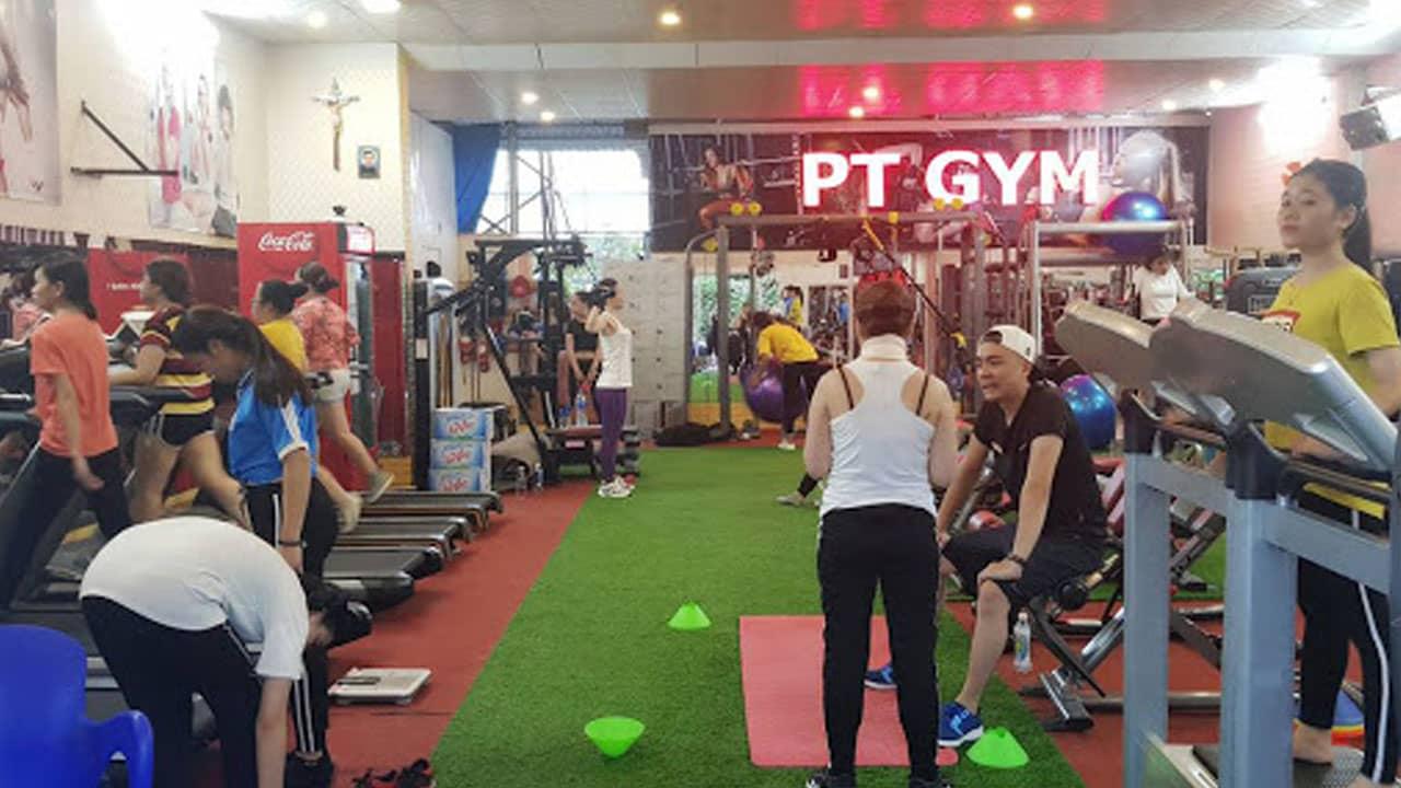 Pt là phòng tập gym cho nữ ở Nha Trang