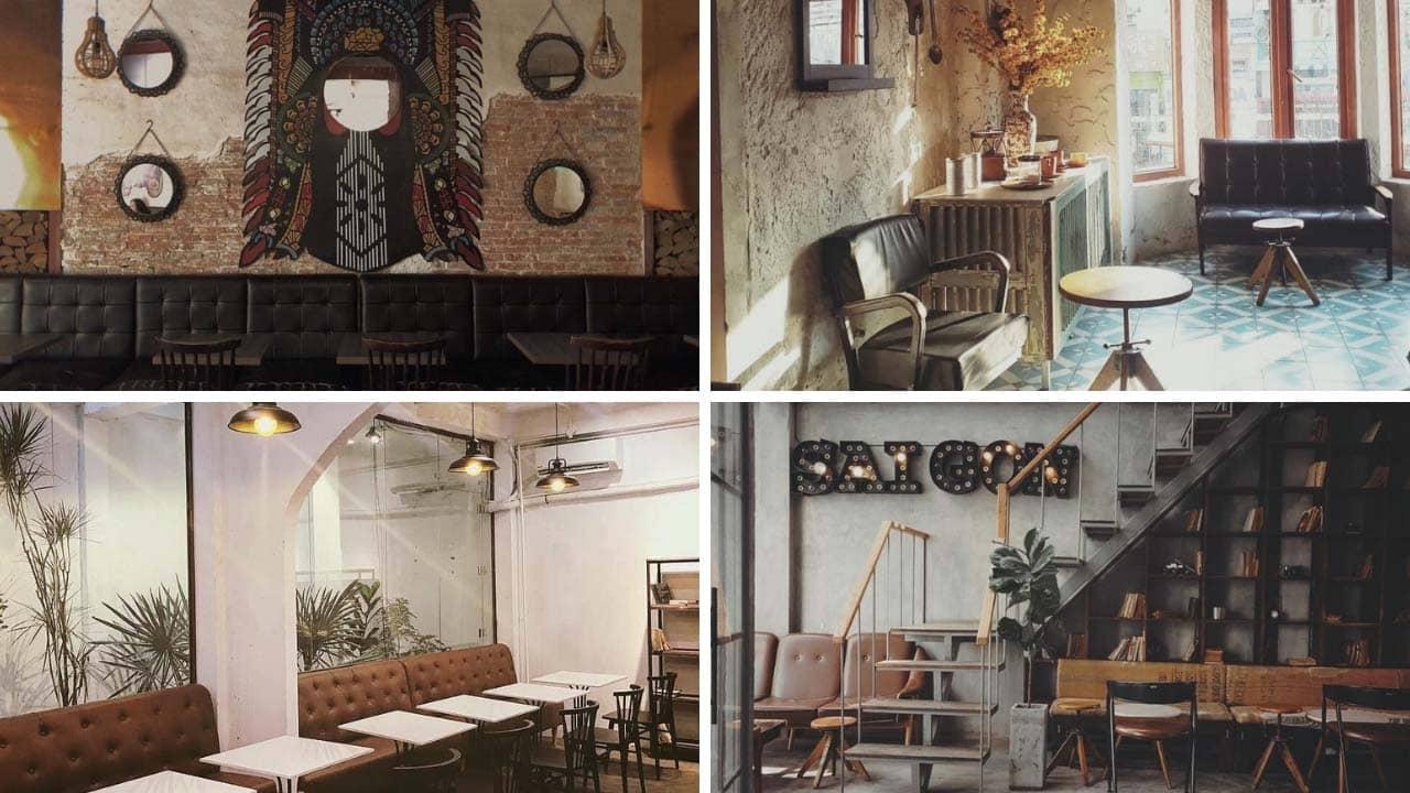 Đen Đá:quán cafe mang phong cách Retro