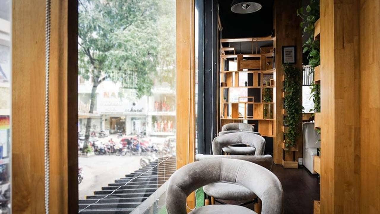Một góc tại quán cafe Togo