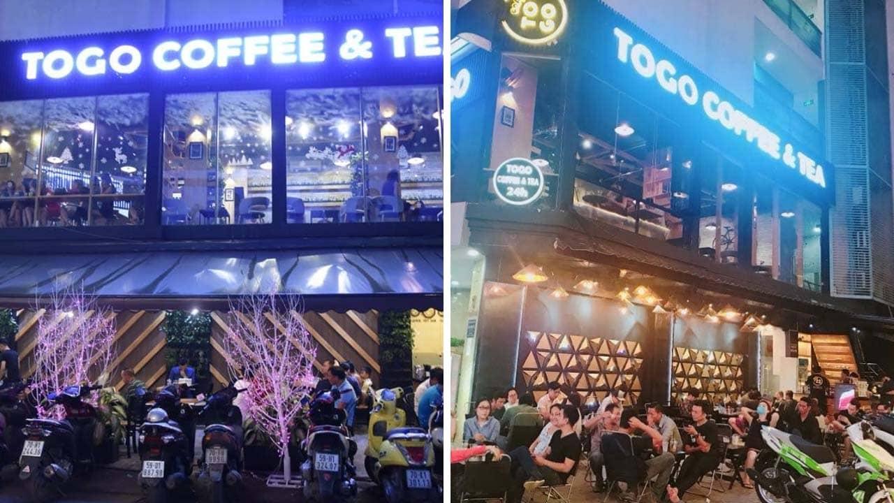 Togo coffee & tea ngắm Sài Gòn nhộn nhịp khi phố lên đèn