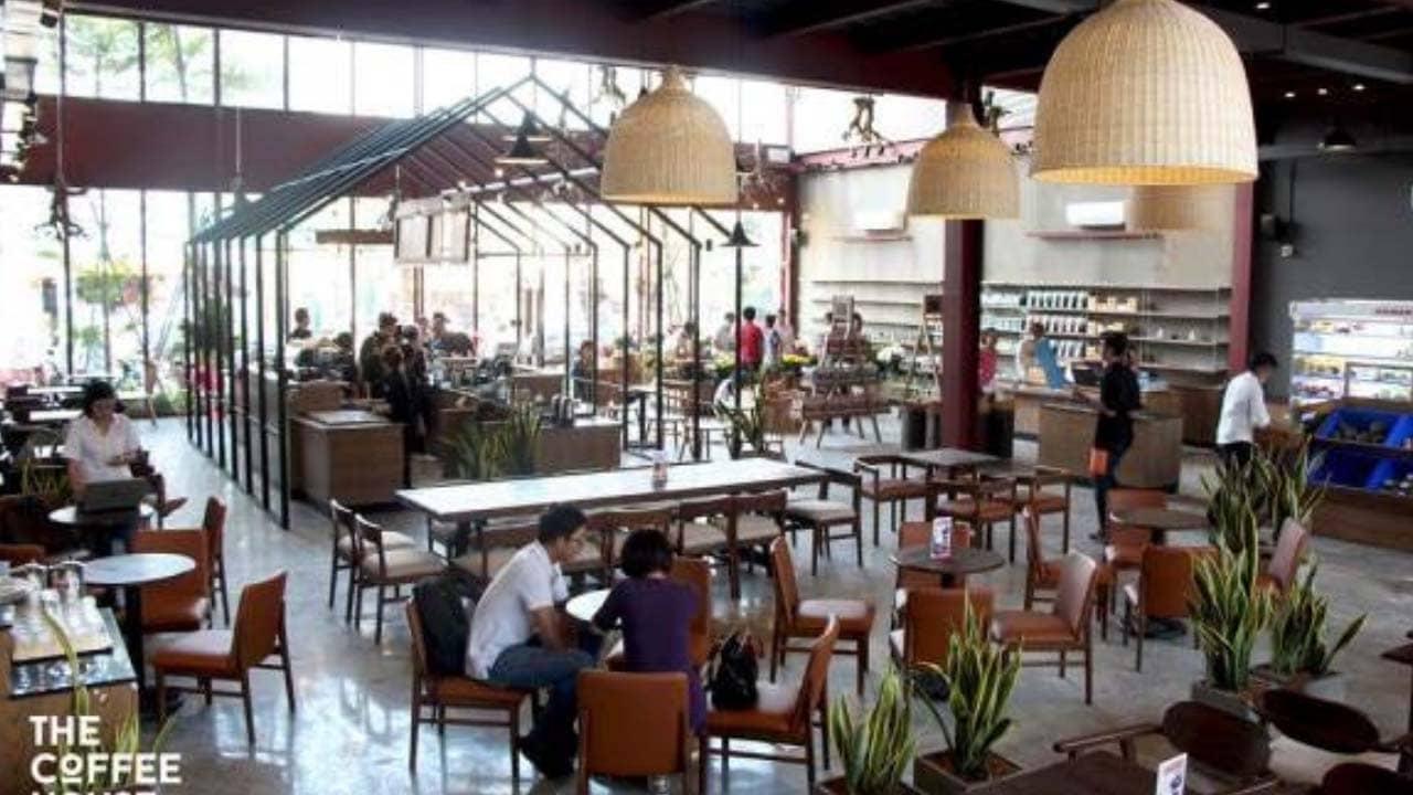 The Coffee House đó là luôn sở hữu không gian cực kỳ rộng rãi và thoáng đãng