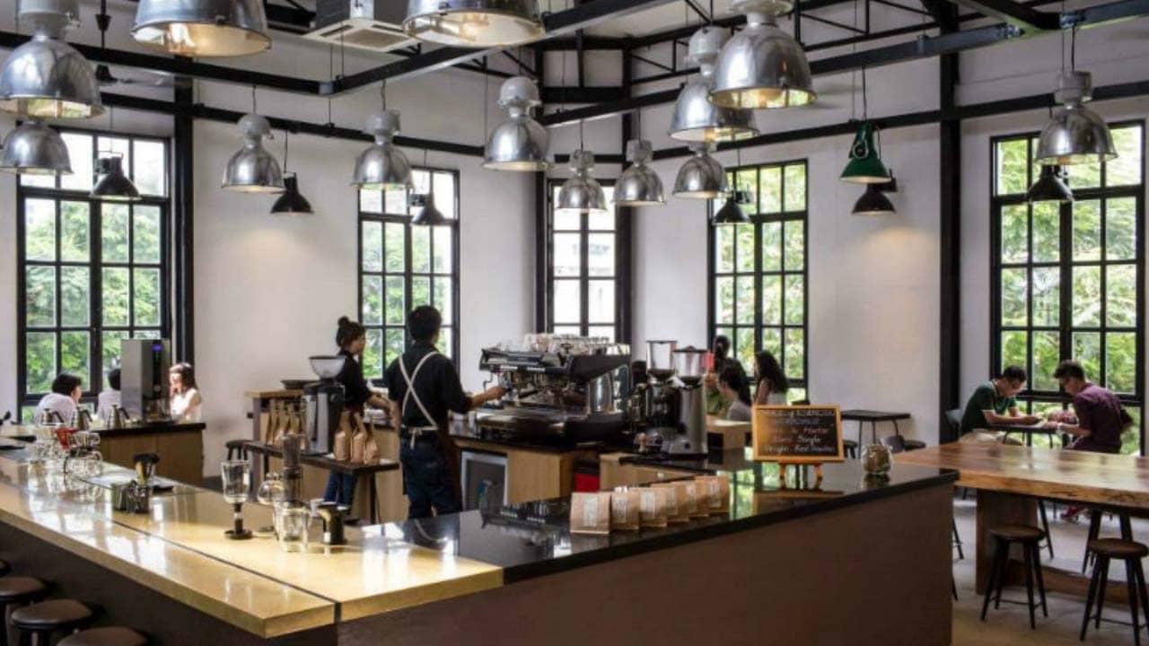 The Workshop - quán cafe Sài Gòn thích hợp làm việc nhóm