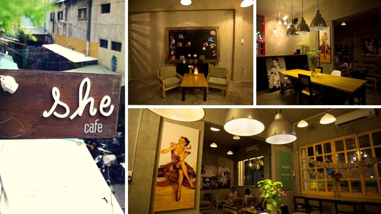 """She Coffee: góc """"lặng"""" cho những cô gái Sài Gòn"""