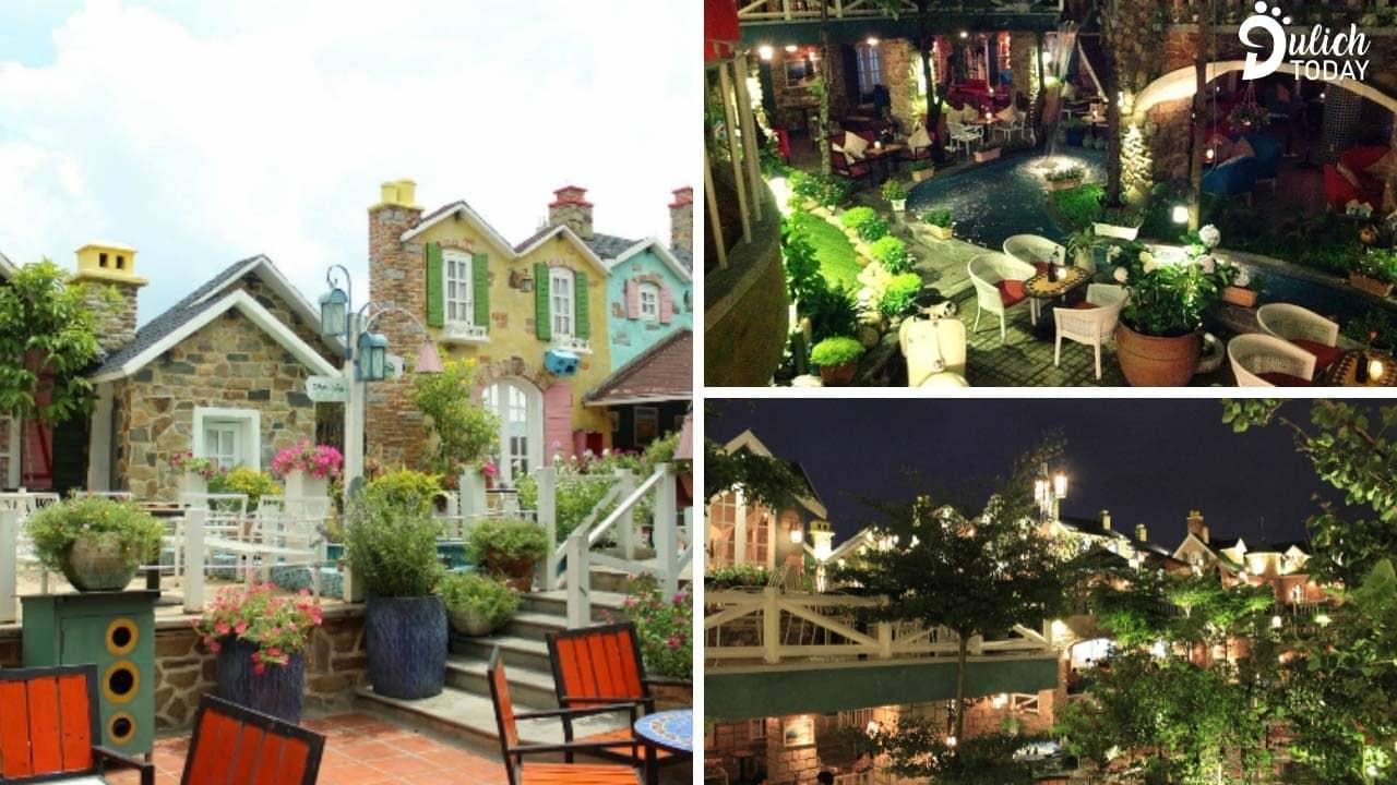 City House thiết kế theo mô hình cafe sân vườn rộng rãi