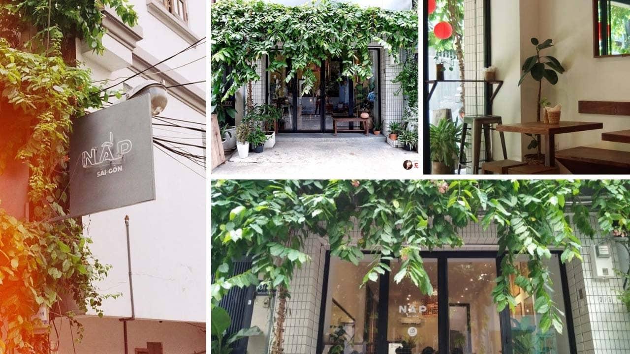 Quán Cafe Nấp Saigon quận 1 nơi ẩn náu lý tưởng của bạn tại Sài Gòn
