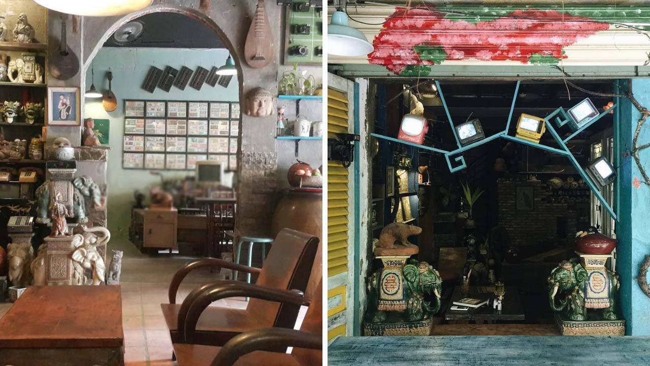Không gian đầy chất thơ của tiệm Nhỏ Cafe
