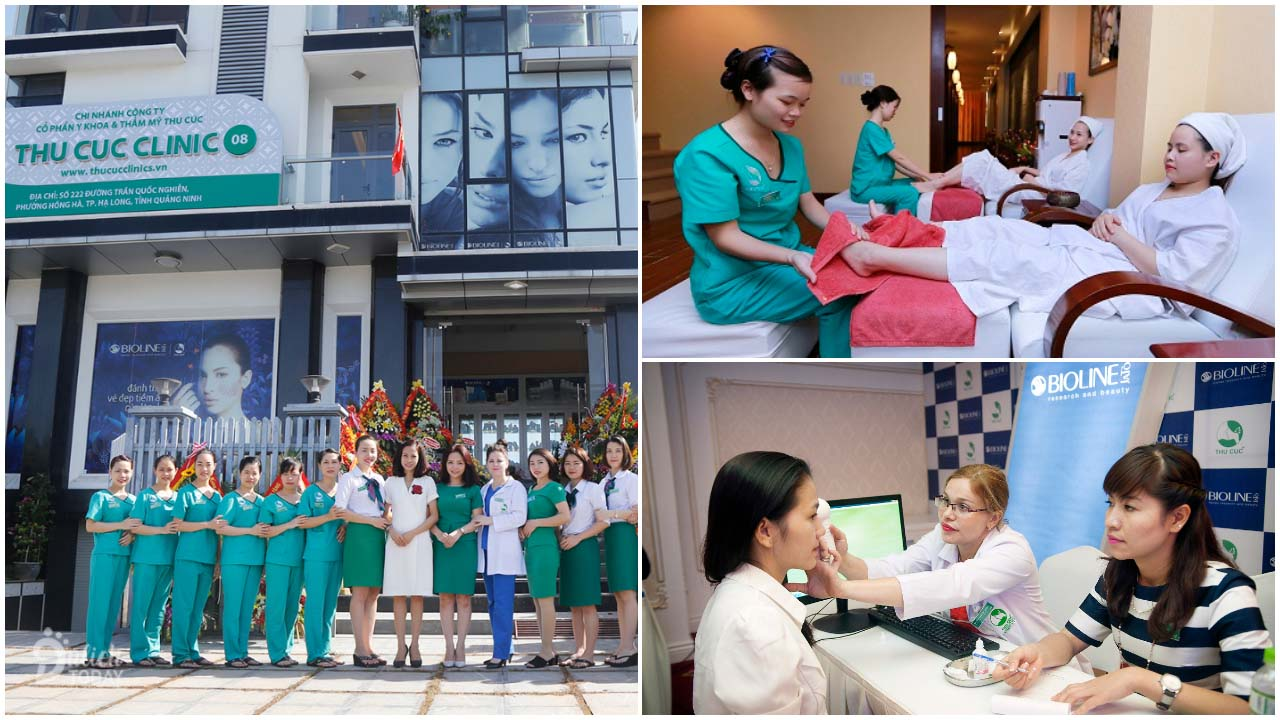 Thu Cúc Clinics với tiền thân spa y khoa là địa chỉ xông hơi Hà Nội uy tín