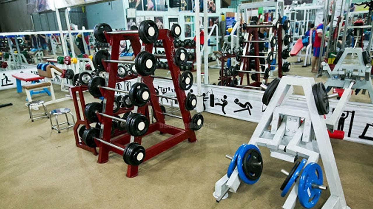 Thùy Sport được trang bị đầy đủ dụng cụ tập
