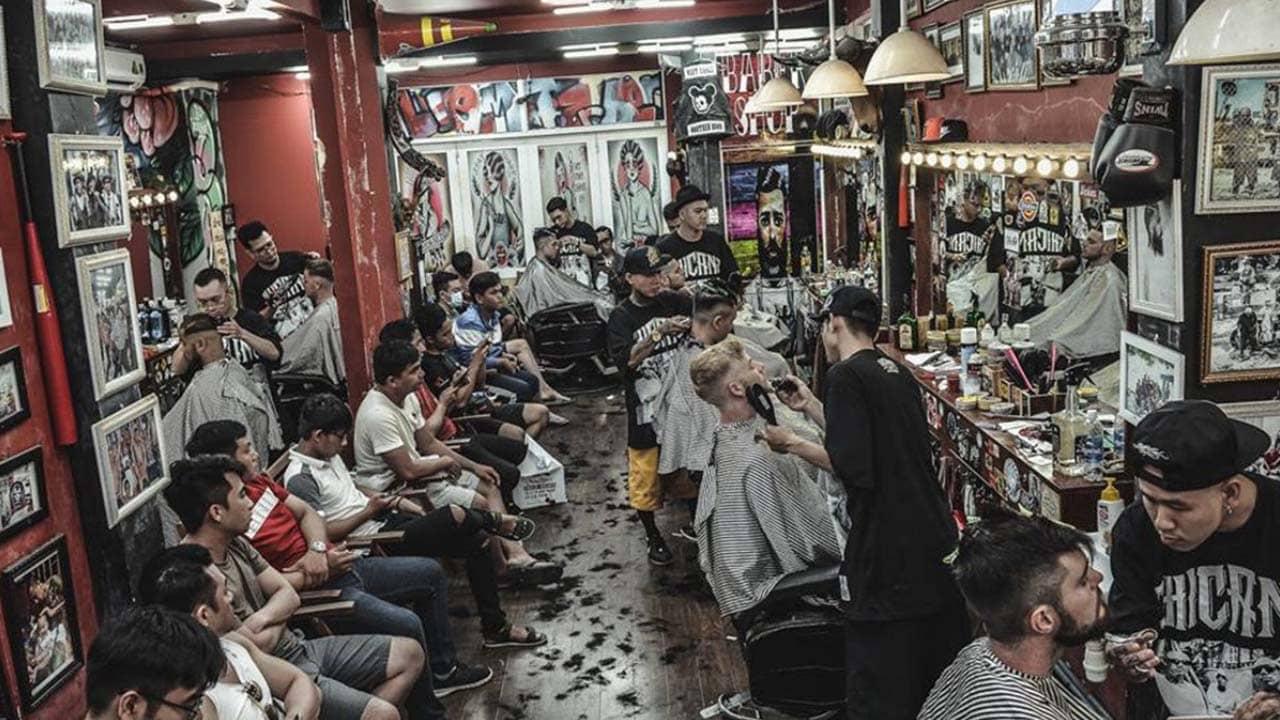 Liêm Barber shop - tiệm cắt tóc nam Sài Gòn uy tín