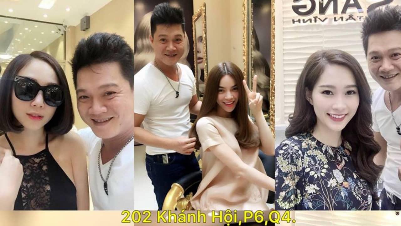 Hair Salon Sáng Tân Vĩnh: Chuyên gia tóc nối được rất nhiều mỹ nhân Việt lựa chọn