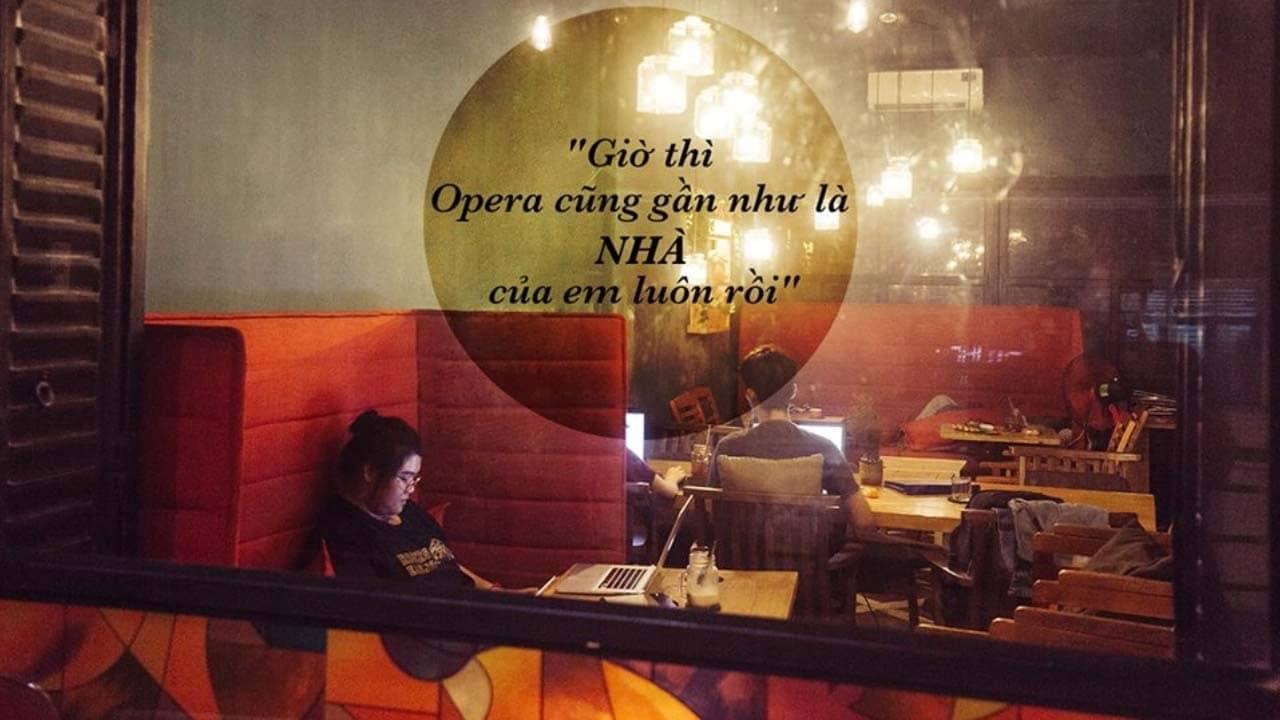Opera Tea Club -Quán Café Ngủ Thoải Mái Mở Cửa 24/7