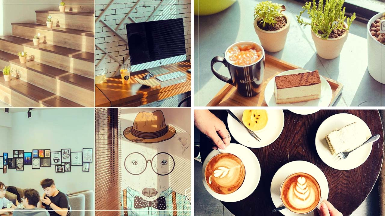 Snop Coffee chuyên phục vụ cafe với nhiều phong cách khác nhau