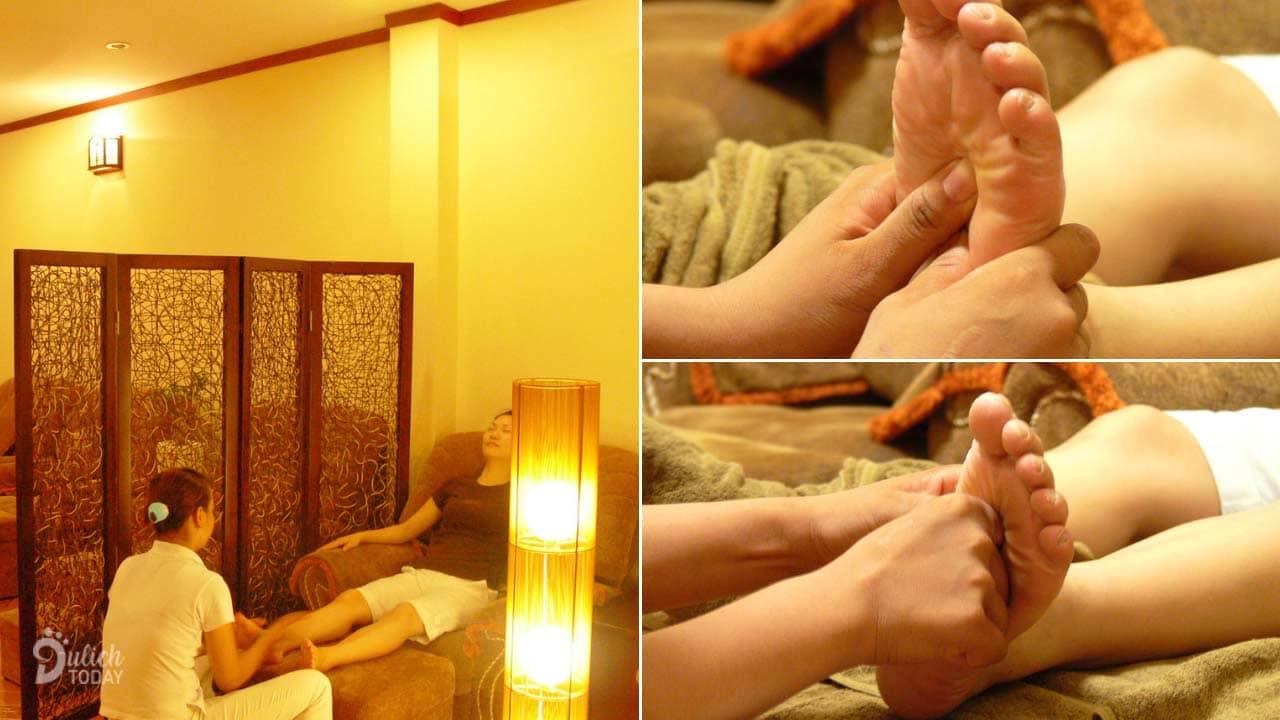 Vạn Xuân là địa chỉ massage chân Hà Nội phong cách Đông Y với phương pháp bấm huyệt độc đáo rất hiệu quả