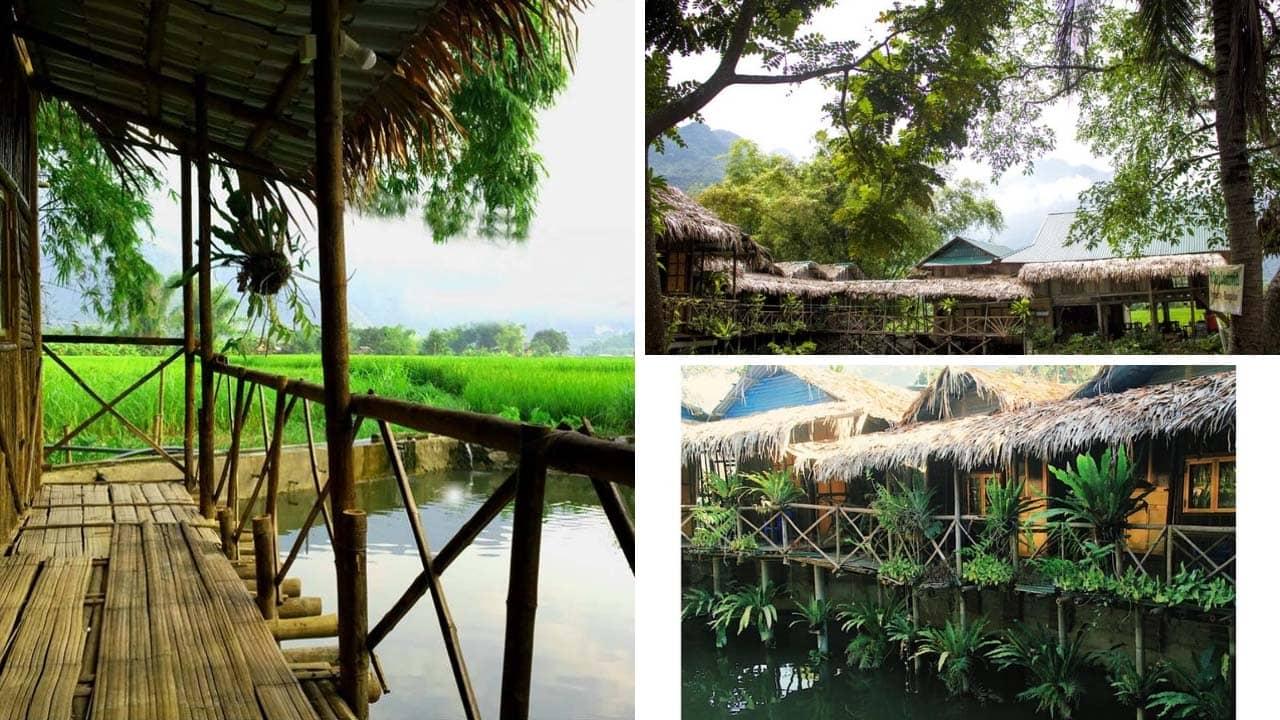 Mai châu countryside homestay – homestay trên nước với nhiều góc sống ảo lung linh