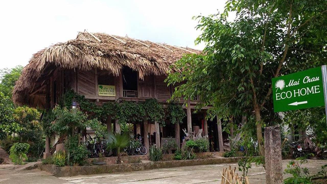 Eco homestay – homestay tiện nghi nằm ngay thị trấn Mai Châu