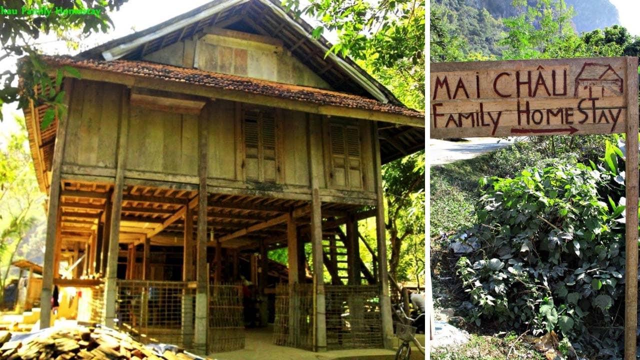 Mai Châu Family homestay – homestay với thiết kế nhà sàn độc đáo