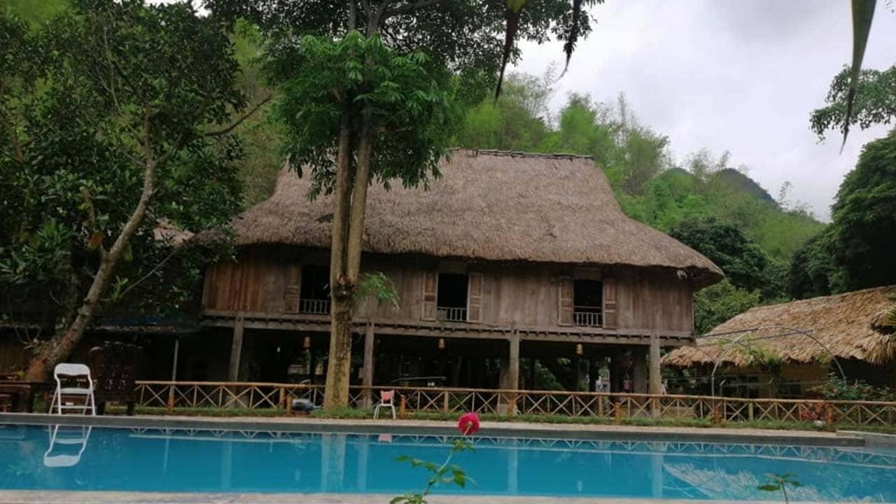 Mai Châu Farmstay – homestay Mai Châu có bể bơi