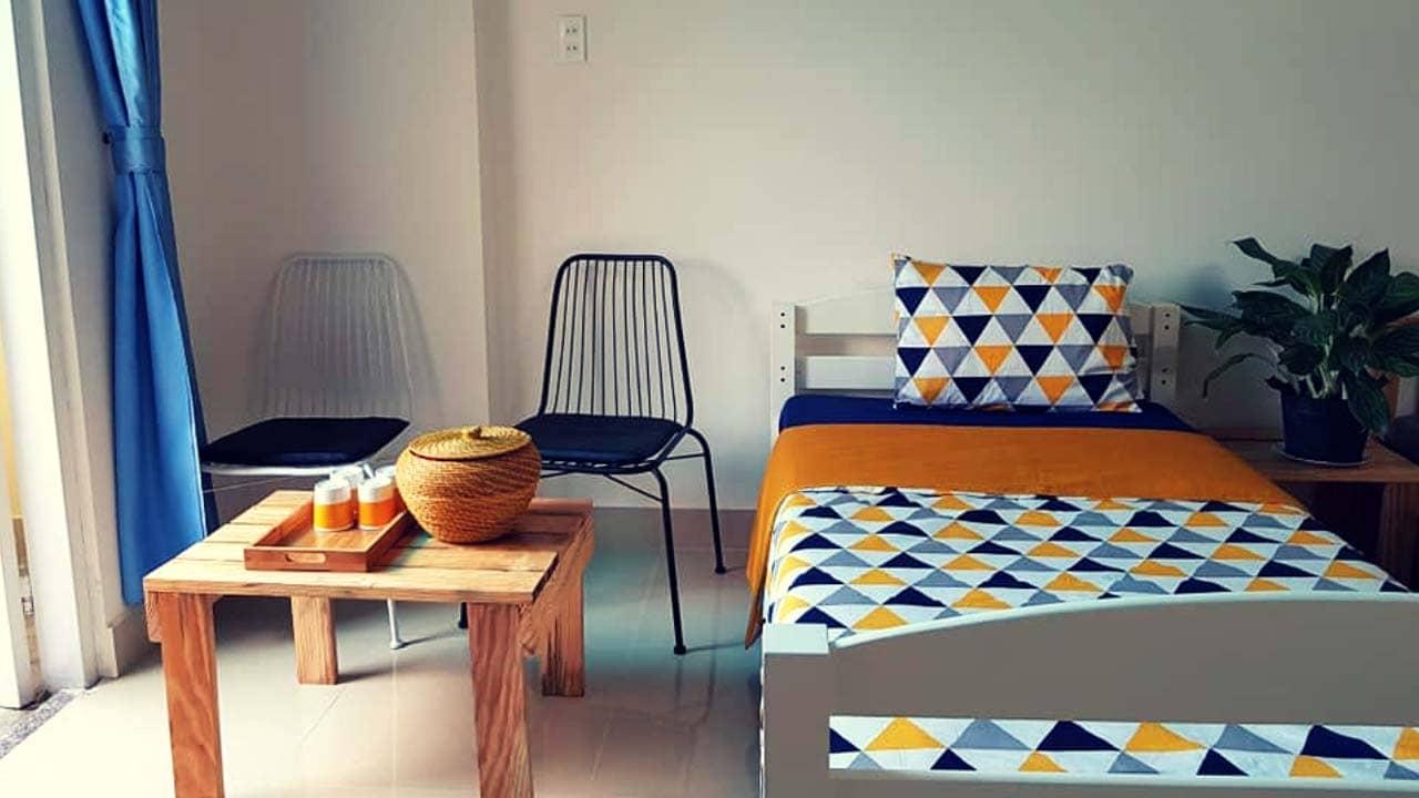 Thiết kế homestay theo phong cách đơn giản nhưng không kém phần hiện đại, tinh tế