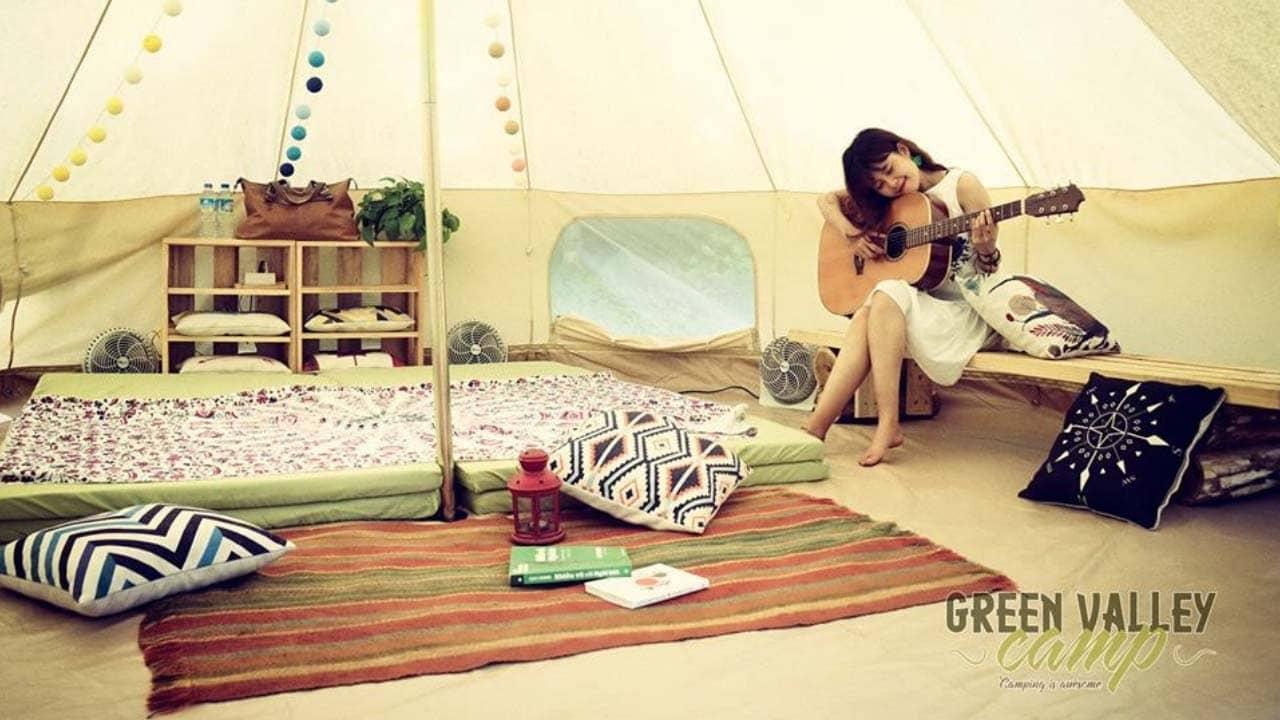 Bên trong những túp lều nhỏ xinh của Green Valley Camp Cát Bà