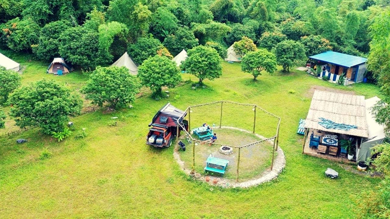 Green Valley Camp homestay Cát Bà dành cho nhóm