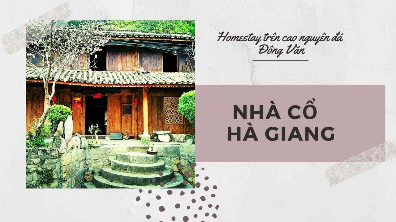 Nhà Cổ homestay là căn nhà cổ của người Mông lâu đời nhất định bạn phải ghé đến nếu có dịp đến cao nguyên đá Đồng Văn Hà Giang