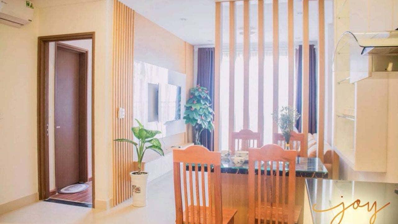 Joy là homestay Hải Phòng kiểu căn hộ chung cư hiện đại