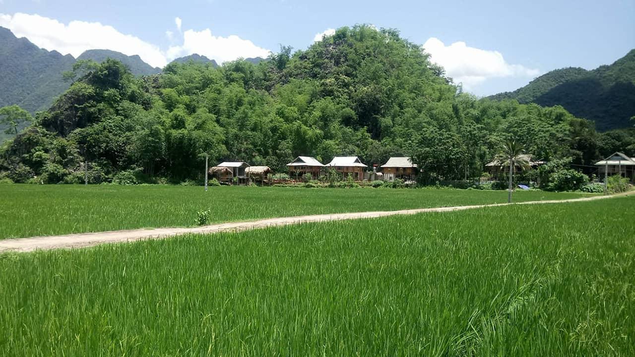 Little Mai Châu có vị trí thuận lợi gần nhiều địa điểm tham quan